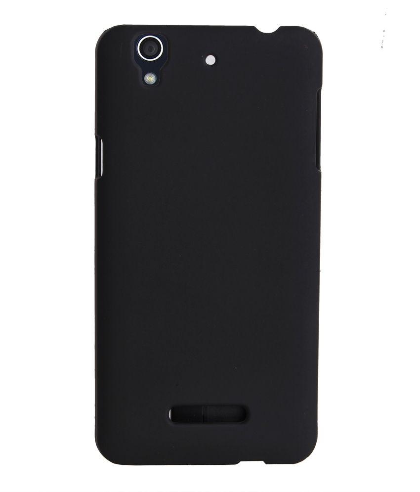 size 40 dd6f0 34873 RDcase Back Cover For Micromax Yu Yureka - Black