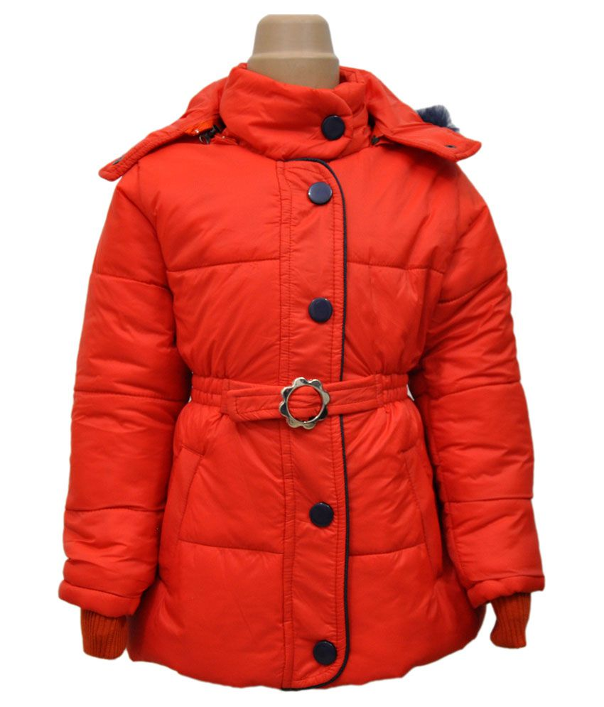 Come In Kids Full Sleeve Quilted Jacket with Hood