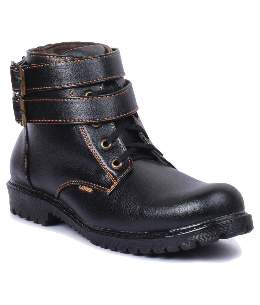 Foot n Style Black Boots