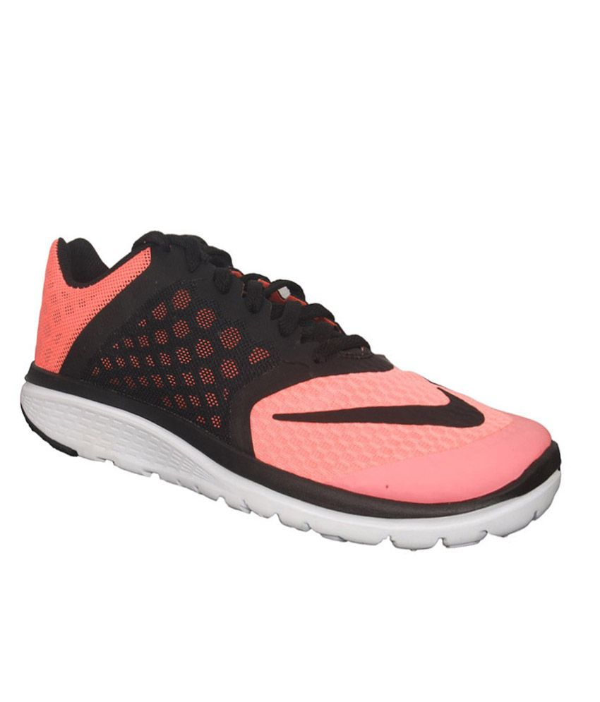 ae6efde1da66 Nike Fs Lite Run 3 Black and Pink Sports Shoes Price in India- Buy Nike Fs  Lite Run 3 Black and Pink Sports Shoes Online at Snapdeal