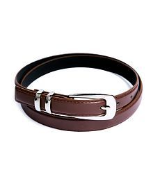 Contra Brown Casual Single Belt For Women
