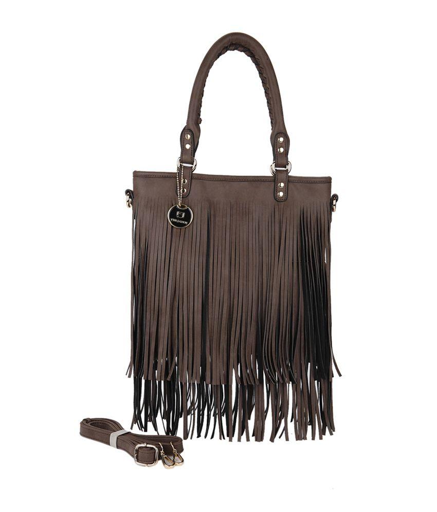 Fur Jaden Brown Tote Bag - Buy Fur Jaden Brown Tote Bag Online at Best  Prices in India on Snapdeal bce9edf874