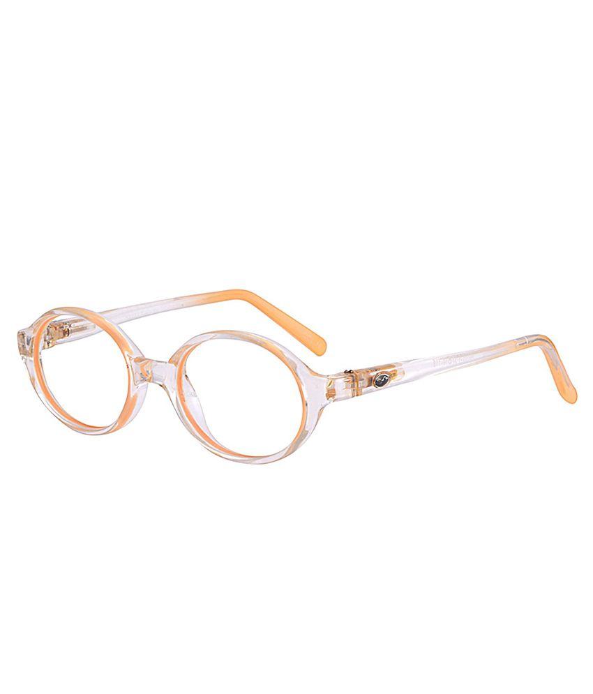 Buy Comfortsight Orange Polycarbonate Eyeglass Frame at Best Prices ...