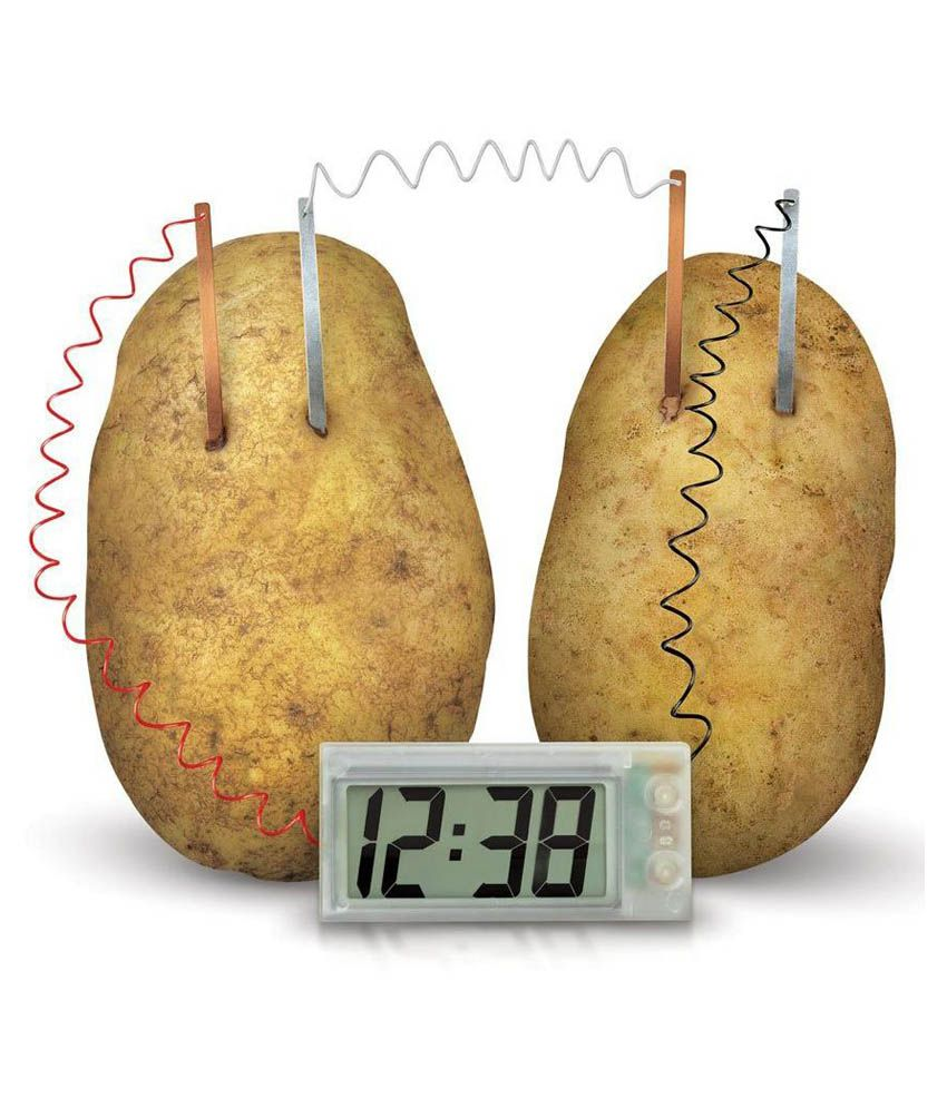 Cute Sunlight Cute Sunlight Educational Science Potato Clock