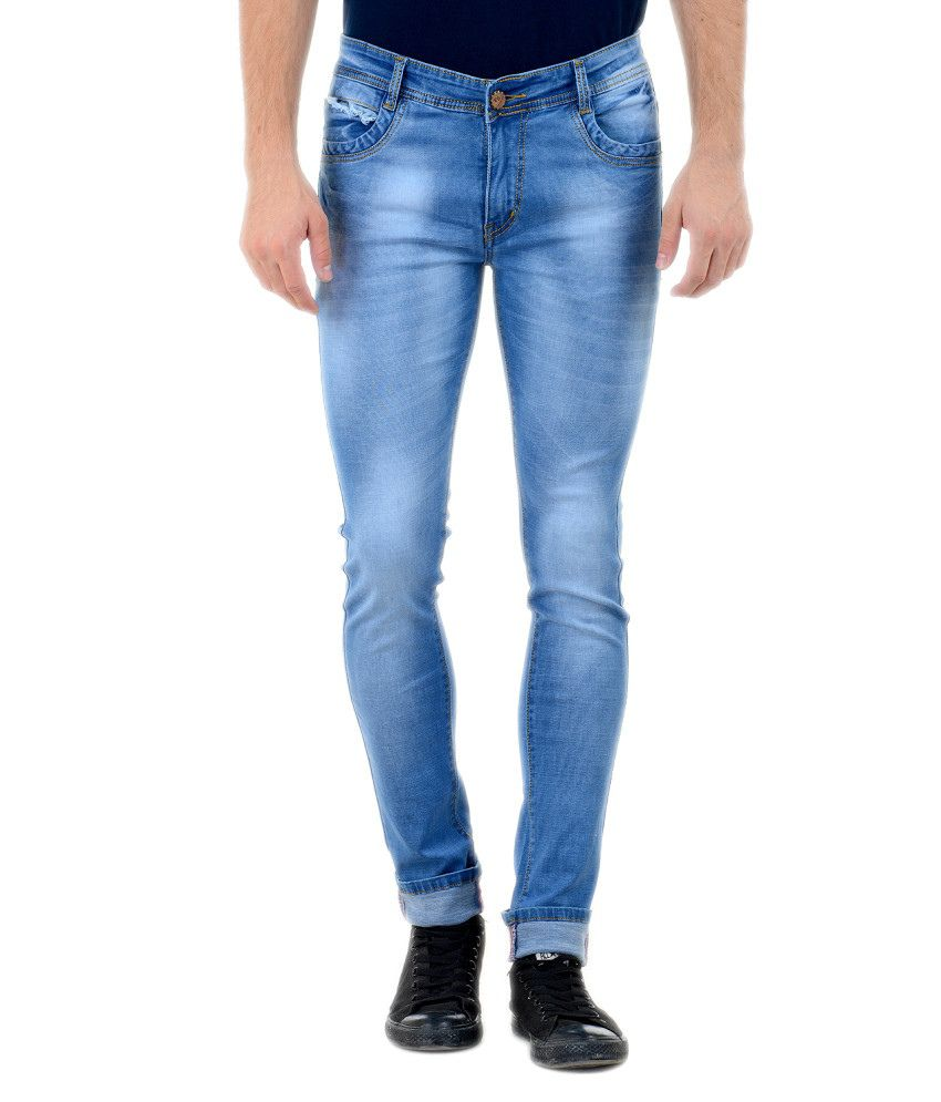 Vrgin Blue Slim Fit Jeans