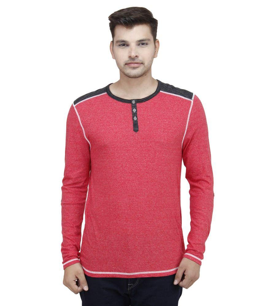 Feels Good multicolor Cotton Blend T-shirt