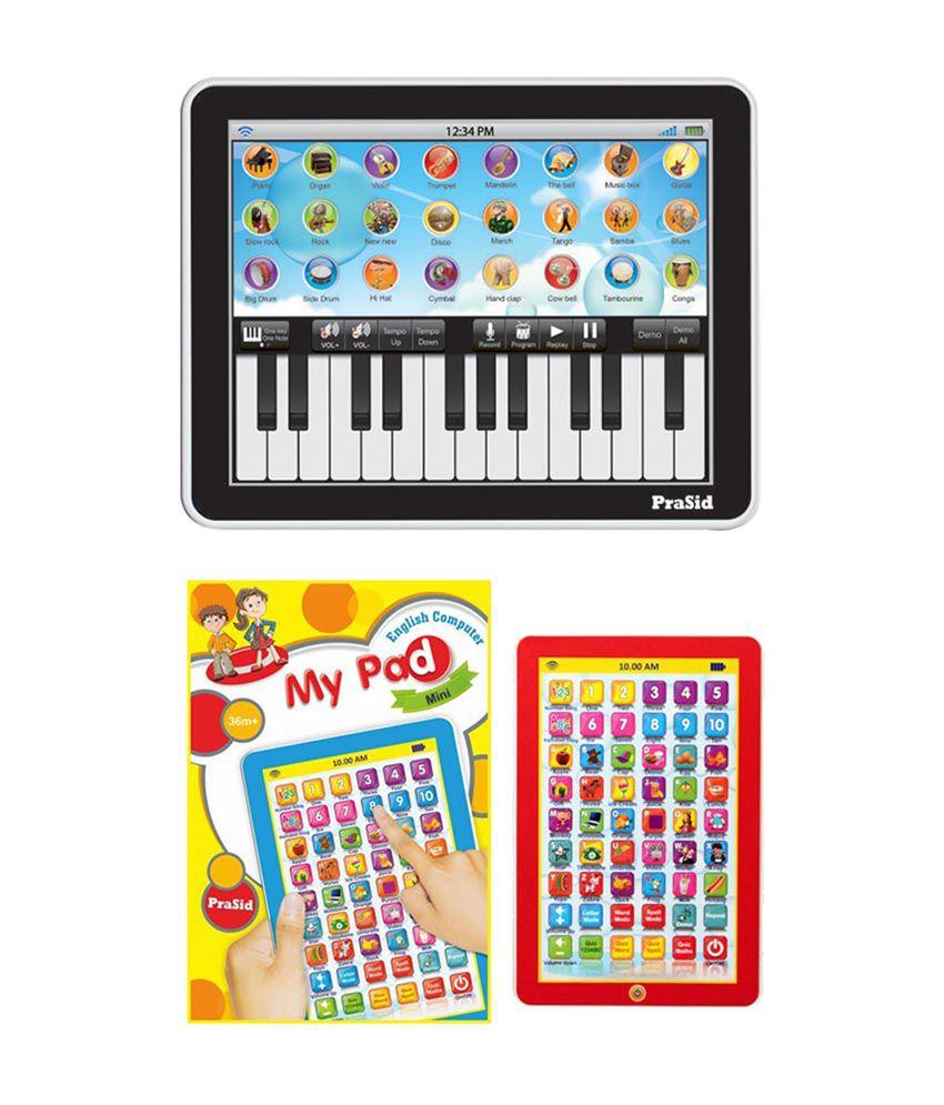 PraSid Combo Of  Mini My Pad & 25 Key Music Centre