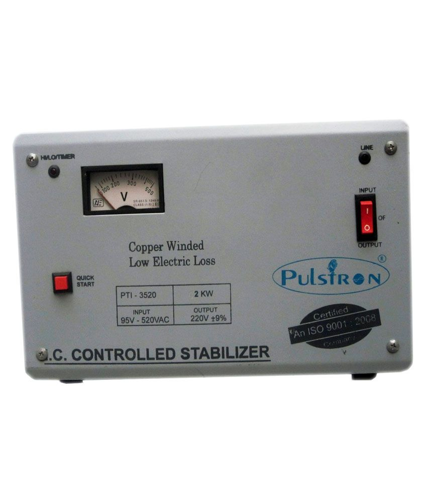 Pulstron PTI-2520 Voltage Stabilizer