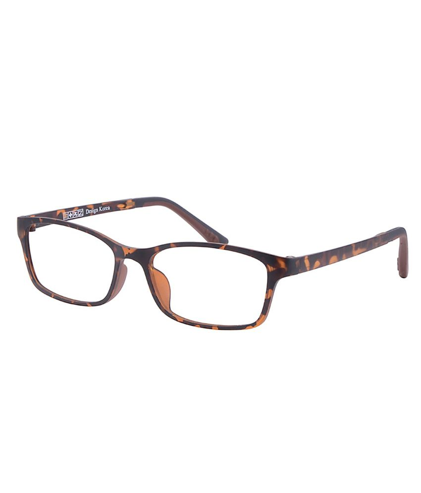 Snapdeal Eyeglass Frame : Comfortsight Brown Polycarbonate Eyeglass Frame - Buy ...
