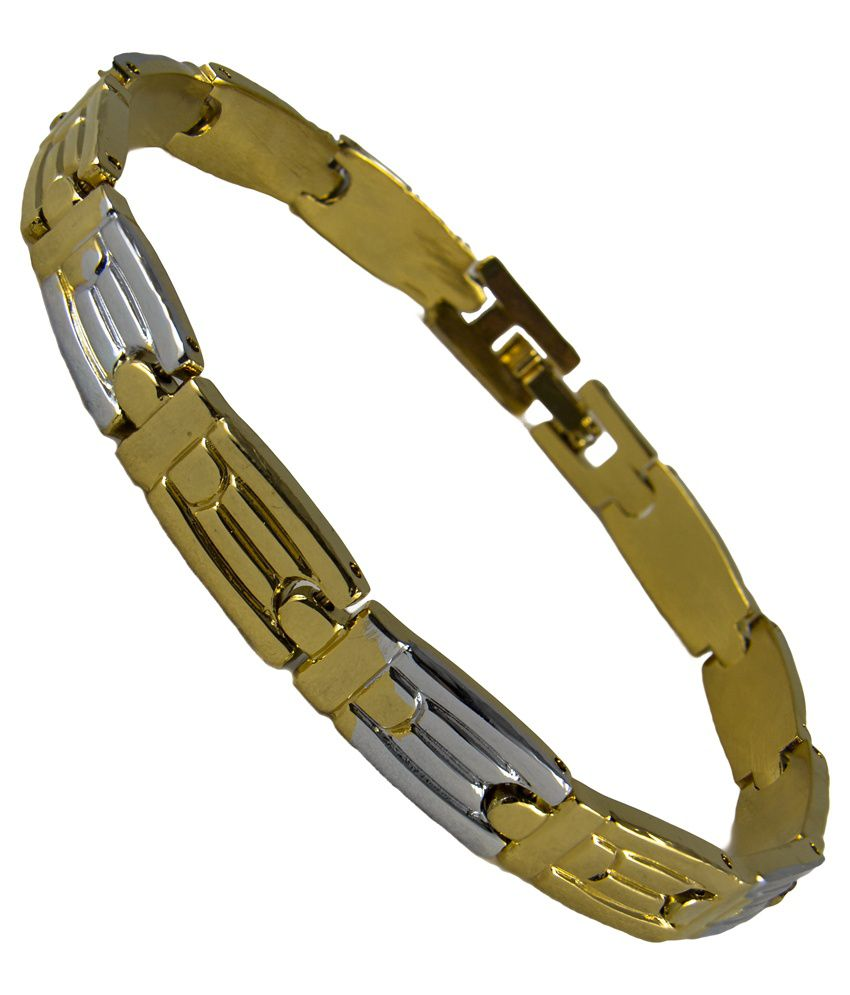 Glitz Gold Daily Wear Bracelet