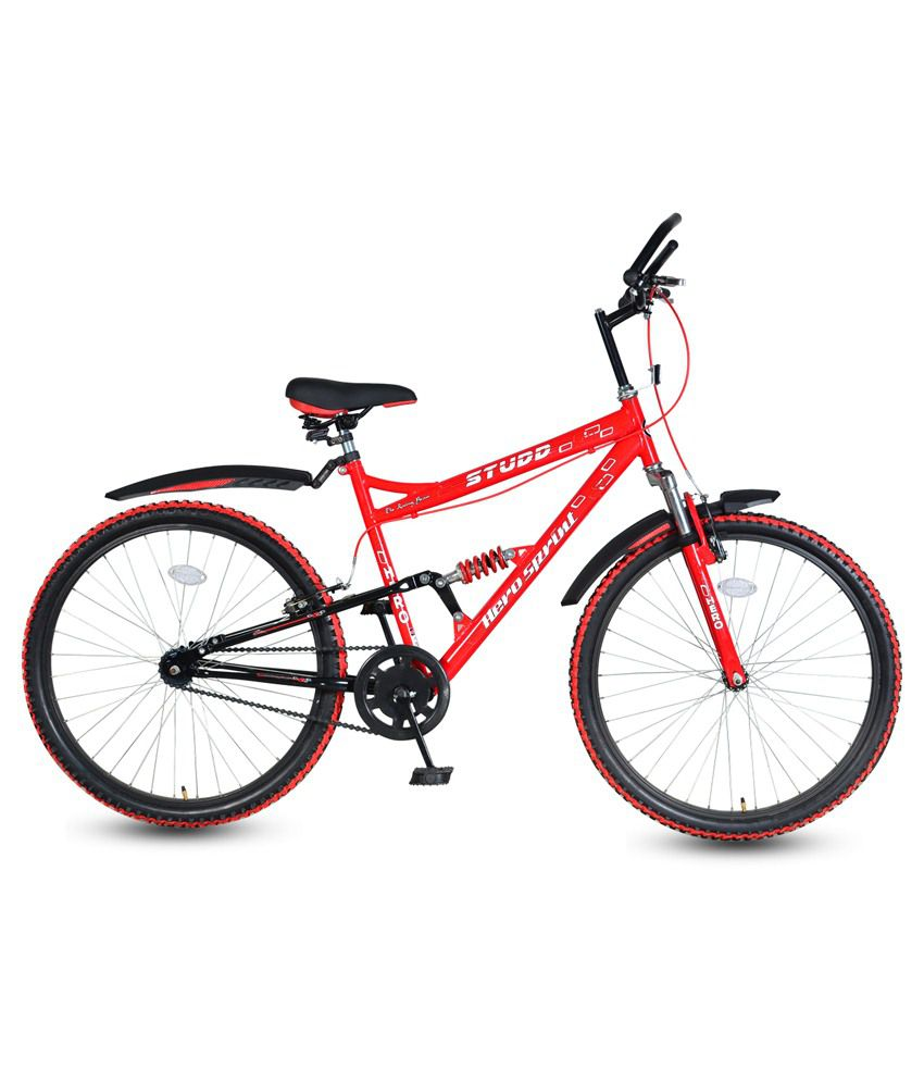 hero black red adult cycle buy online at best price on snapdeal