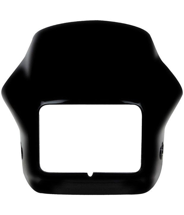 417e9b782826bc ... Cover Cowl -Hero Splendor-pro  Buy Speedwav Custom Fit OEM BLACK Bike  Headlight Cover Cowl -Hero Splendor-pro Online at Low Price in India on  Snapdeal