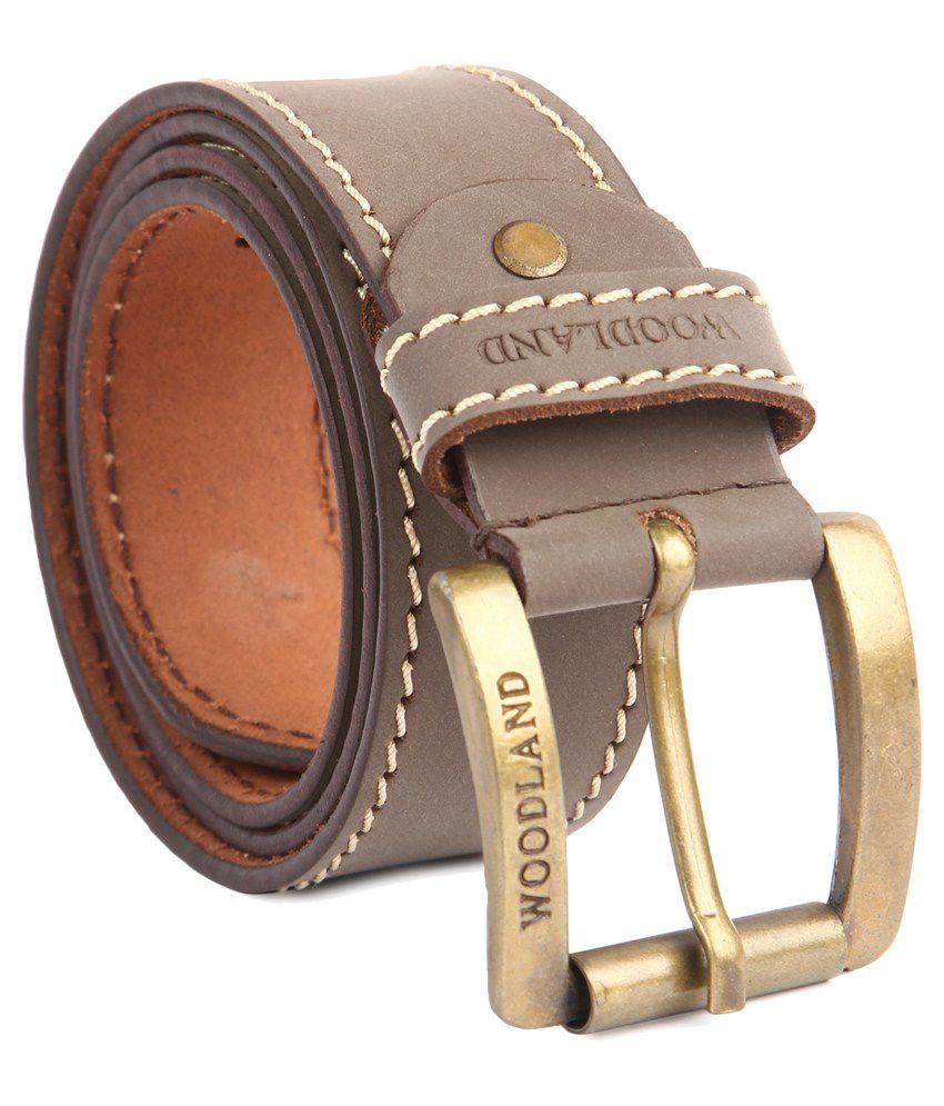 Woodland Brown Formal Belt