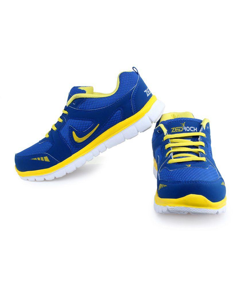 Zed Rock Blue Spots Shoes