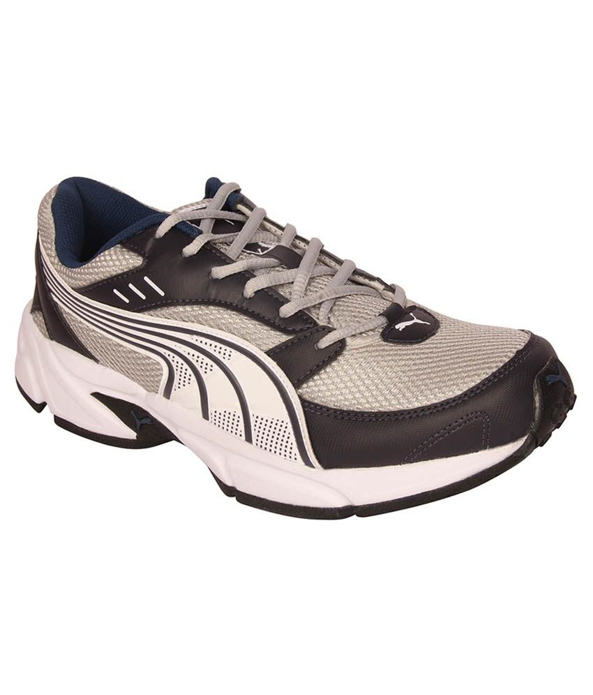 c169eb059eb Puma Atom II DP Gray Sports Shoes - Buy Puma Atom II DP Gray Sports Shoes  Online at Best Prices in India on Snapdeal