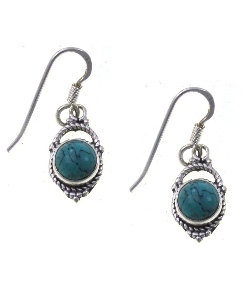 Elbling 92.5 Silver Drop Earrings