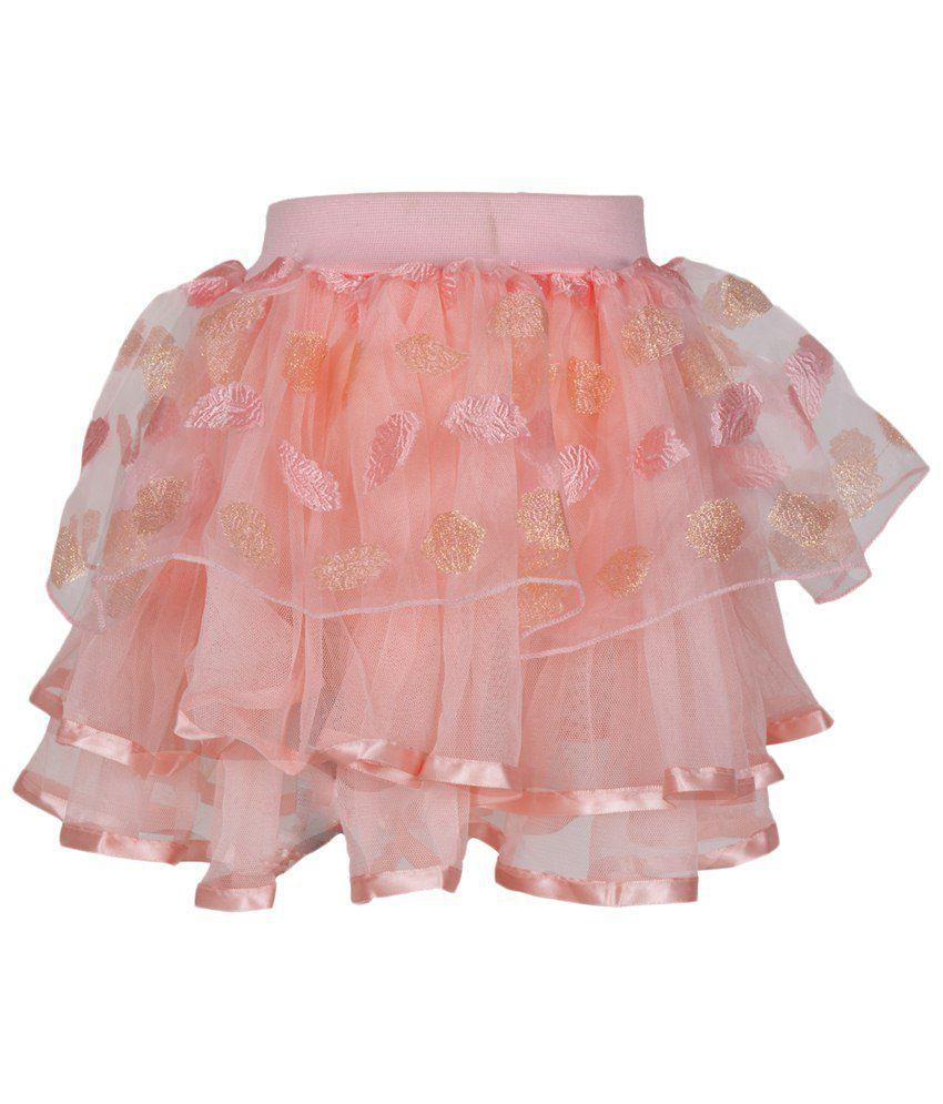 Lil Orchids Pink Net Skirt - Buy Lil Orchids Pink Net Skirt Online ...