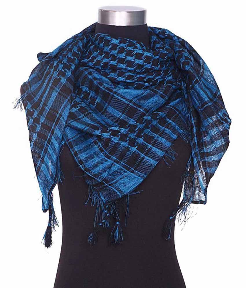 Anuze Fashions Turquoise Casual Scarves