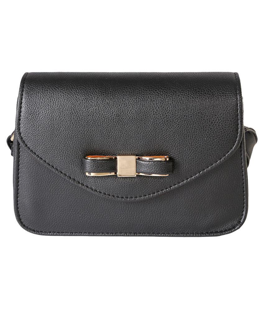 Celladorr Black Sling Bag