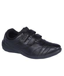 Rex Shoes Black Casual Shoes