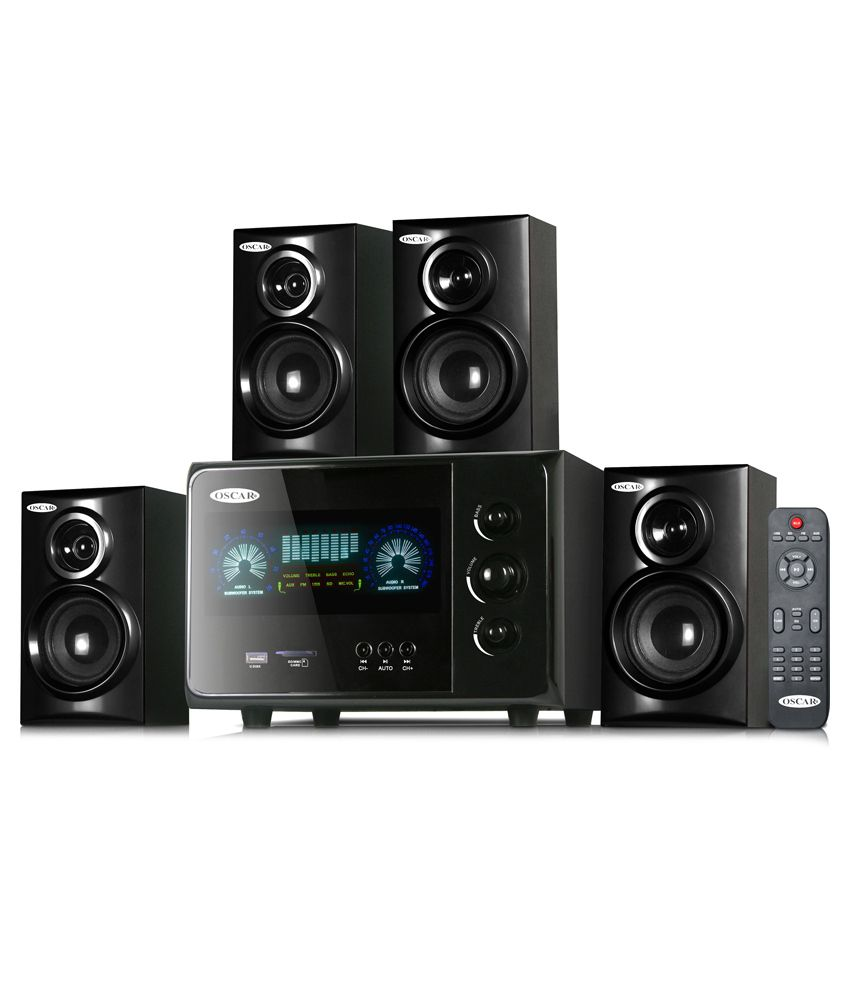 470e72d73fb Buy Oscar Osc-4500En 4.1 Speaker System With Bluetooth And Vfd Display  Online at Best Price in India - Snapdeal