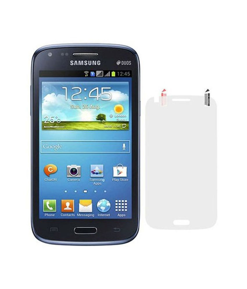 Samsung Galaxy Core I8262 Clear Screen Guard by Uni Mobile Care