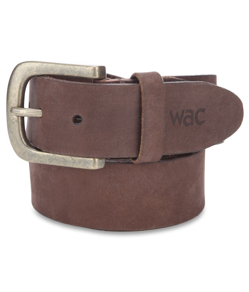 Wrangler Brown Belt