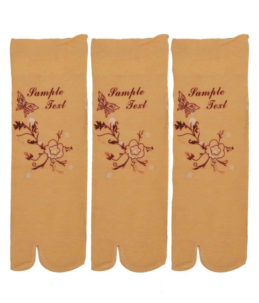 Grace Multi Casual Ankle Length Socks