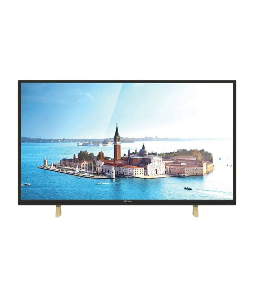 Micromax 43B6000MHD/43Y8100MHDI 109 cm (43) Full HD LED Television With 1 + 2 Year Extended Warranty