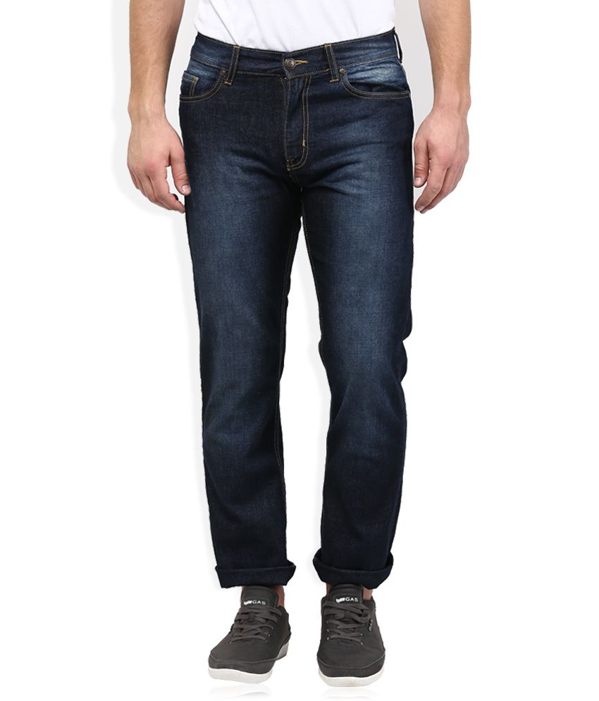 Newport Blue Regular Fit Jeans