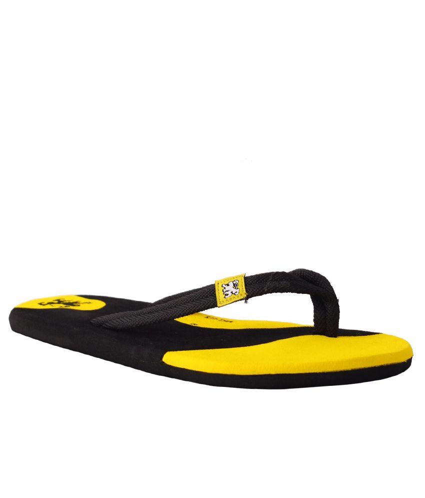 Guardian Black Flip Flops