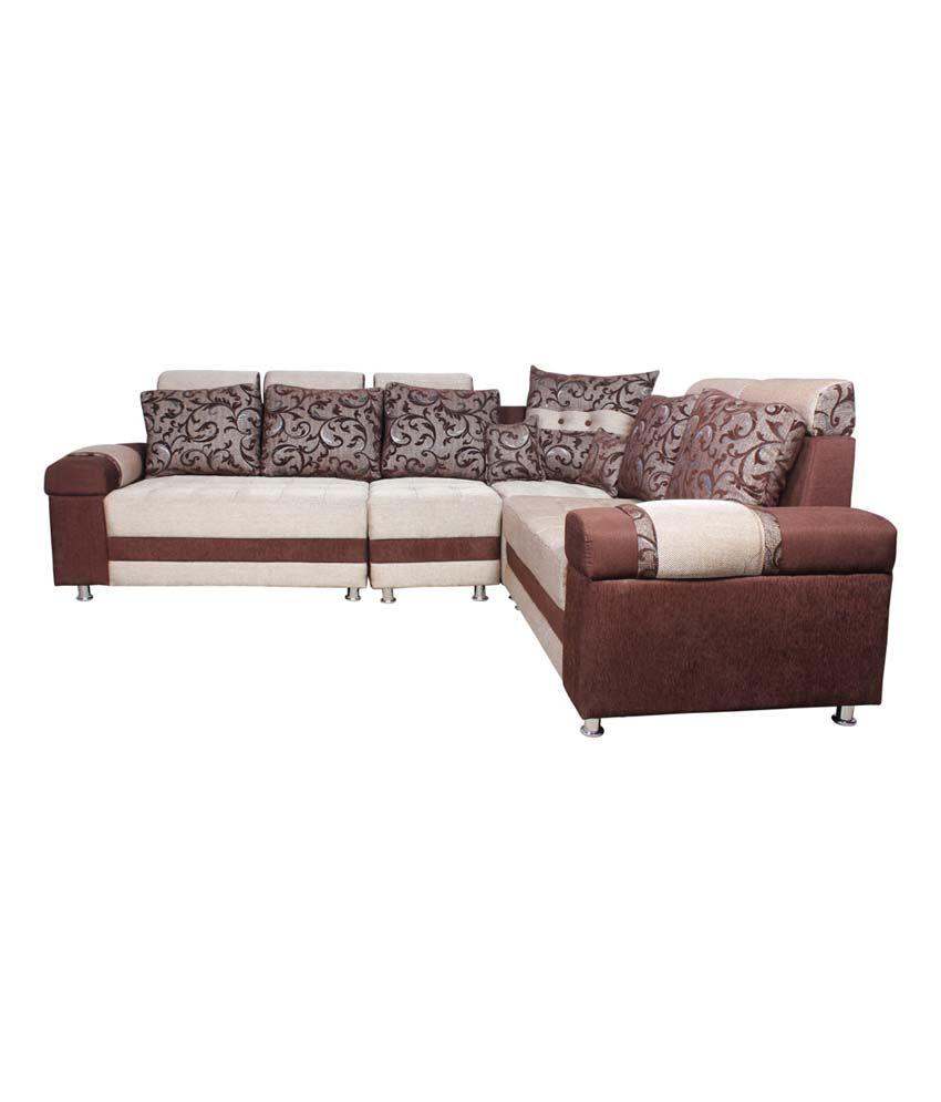 f1cc2c430 Solid Wood L Shaped 7 Seater Sofa Set (3+2+1+1) - Buy Solid Wood ...