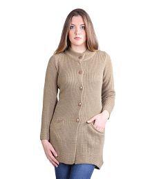 Montrex Brown Woollen Waistcoats