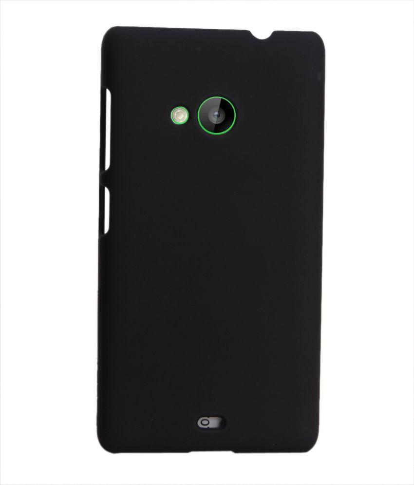 online retailer 198ce 35540 Coverage Back Cover For Microsoft Lumia 540 - Black