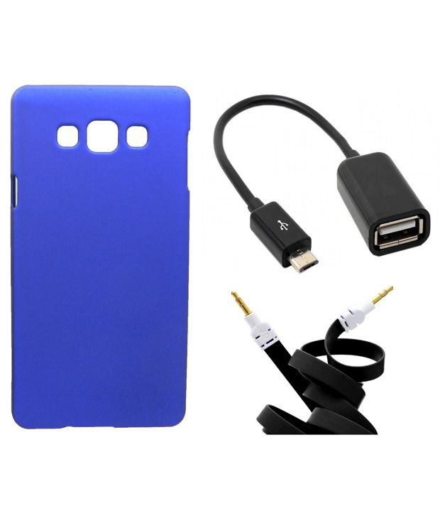 Toppings Back Cover Cases For Samsung - Blue
