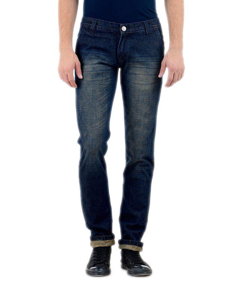 Denim 86 Blue Slim Fit Jeans
