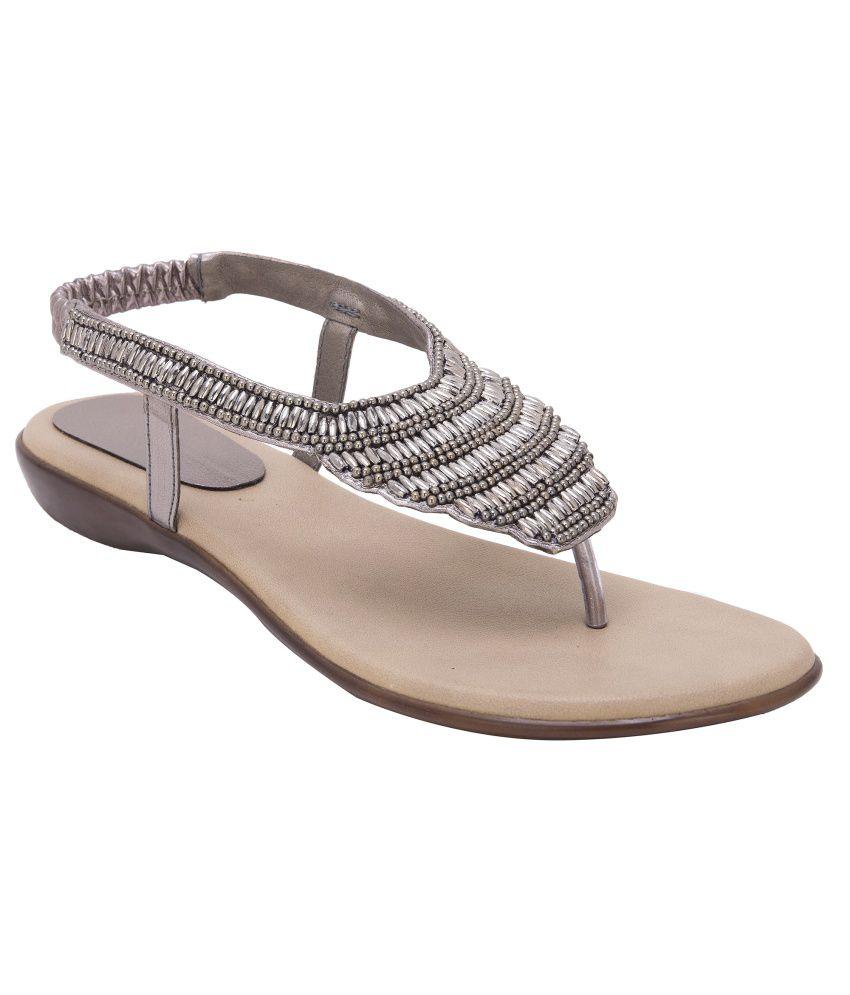 Trotters Beige Heeled Sandals