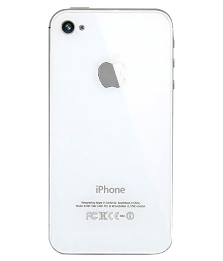 online retailer 5c3ca b335c Apple iPhone 4S back panel white - Mobile Spare Parts Online at Low ...