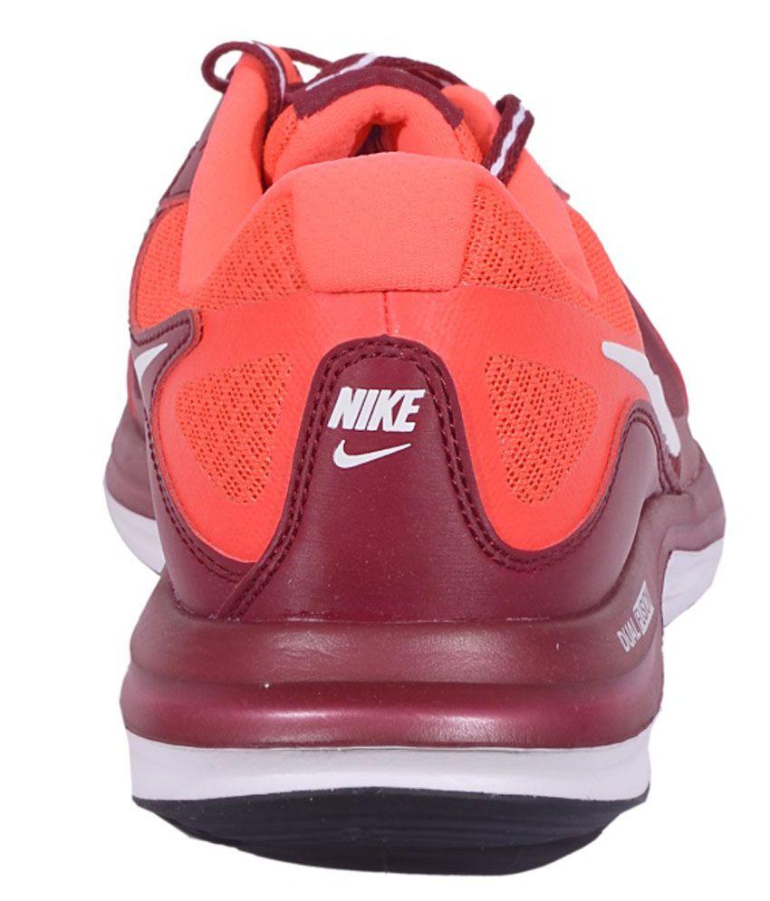 ... Nike Dual Fusion X MSL TM RED WHT Men Sports Shoes ...