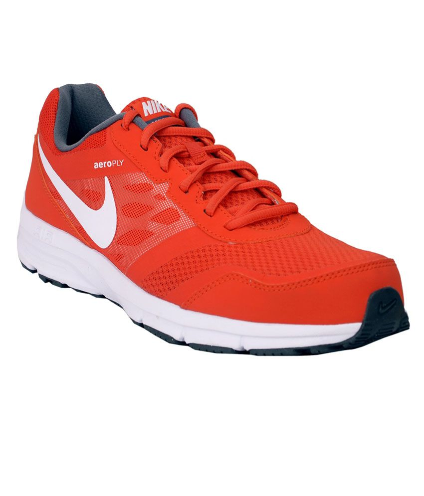 nike airrelentless 4 msl tmorange white sports shoes