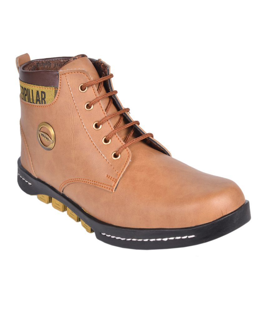 Udenchi Tan Boots