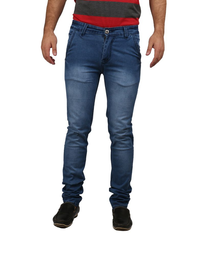 V2 Royal Blue Slim Fit Jeans