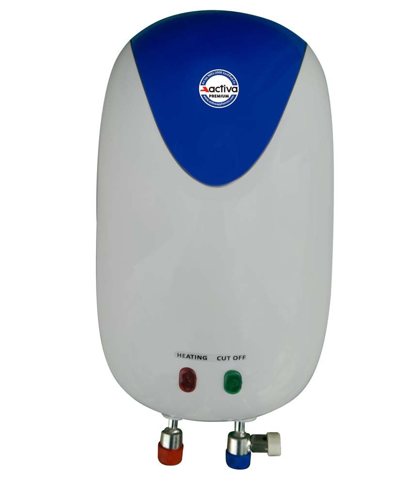 Activa 3 Ltrs Premium Geysers White And Blue