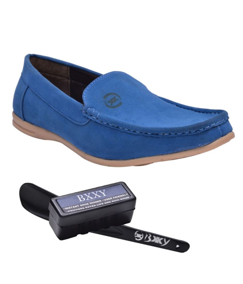 Bxxy Blue Loafers
