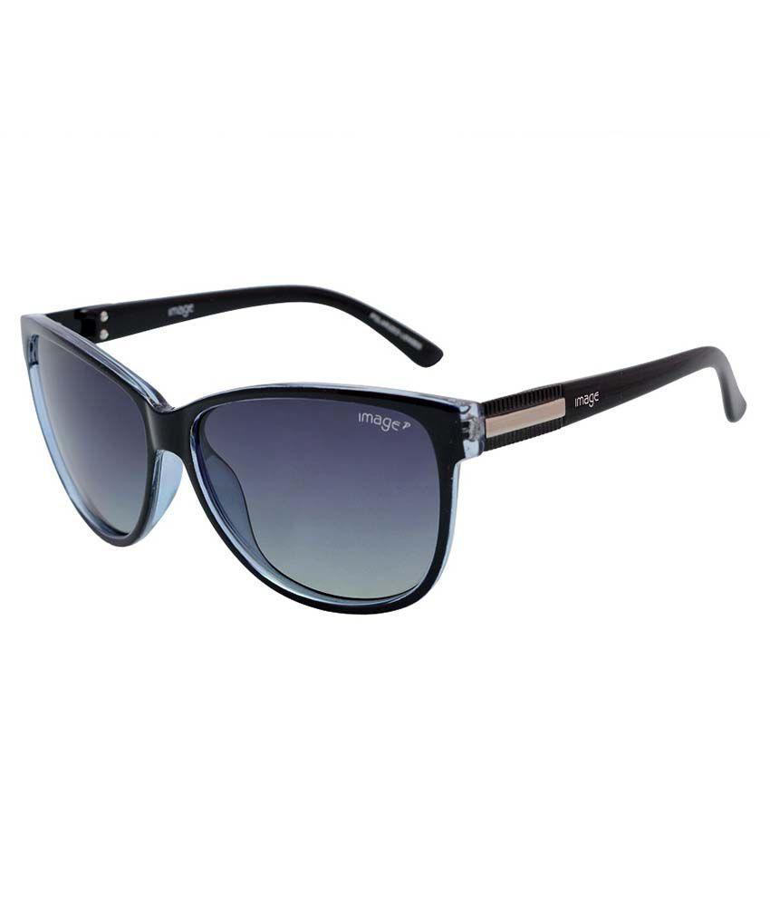 Image S473, C1p Black Cat Eye Unisex Sunglass