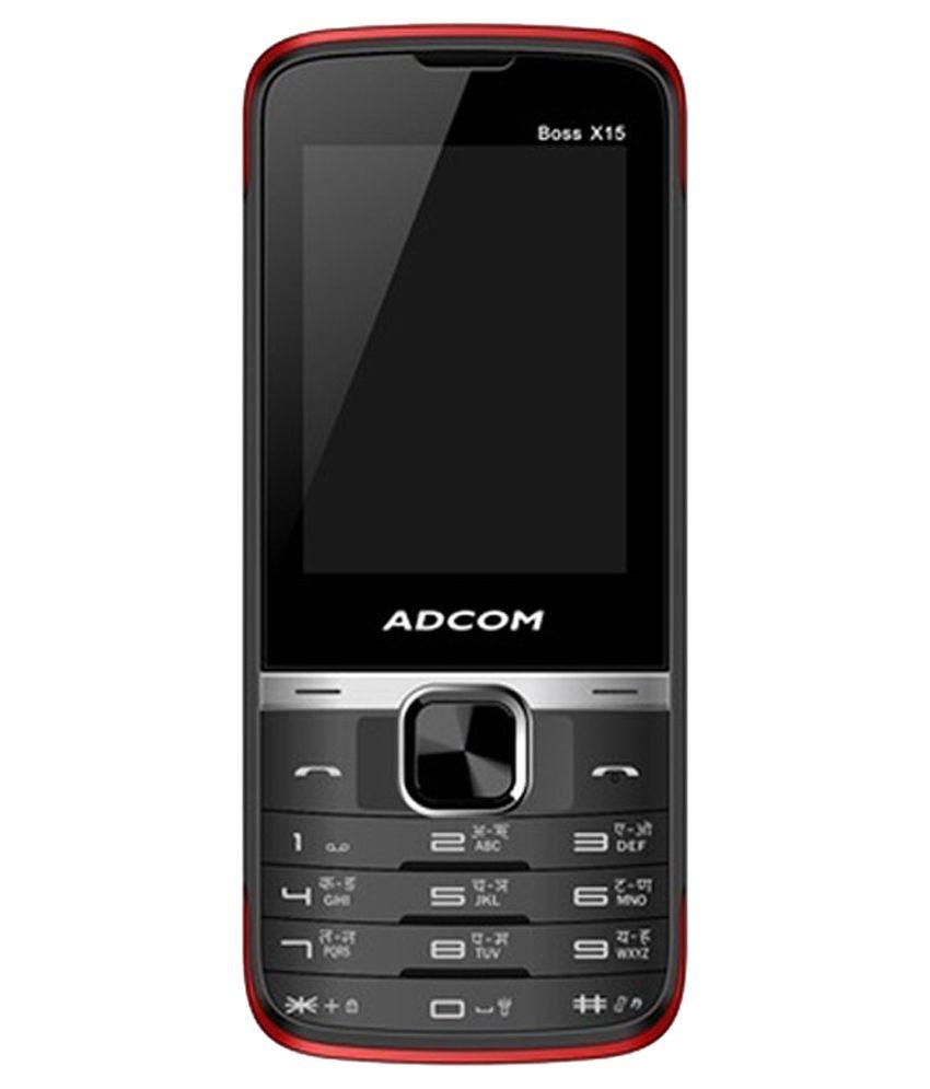 Adcom BOSSX15 Red