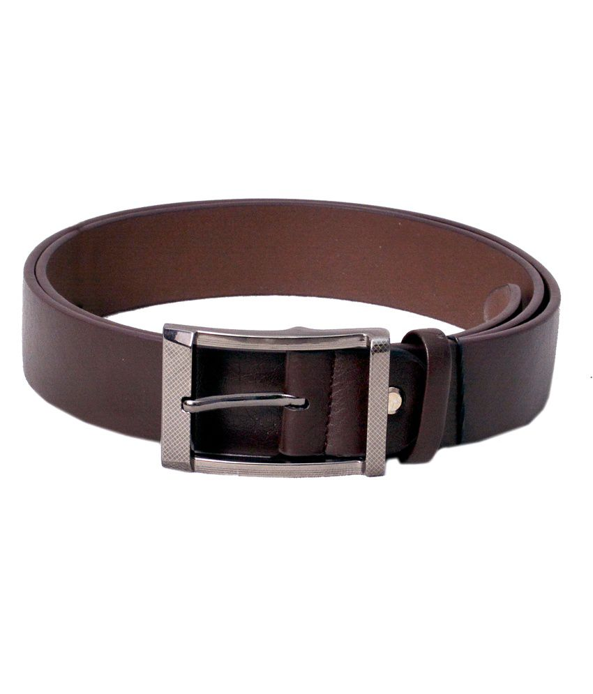 Danmaneao Brown Casual Belt For Men
