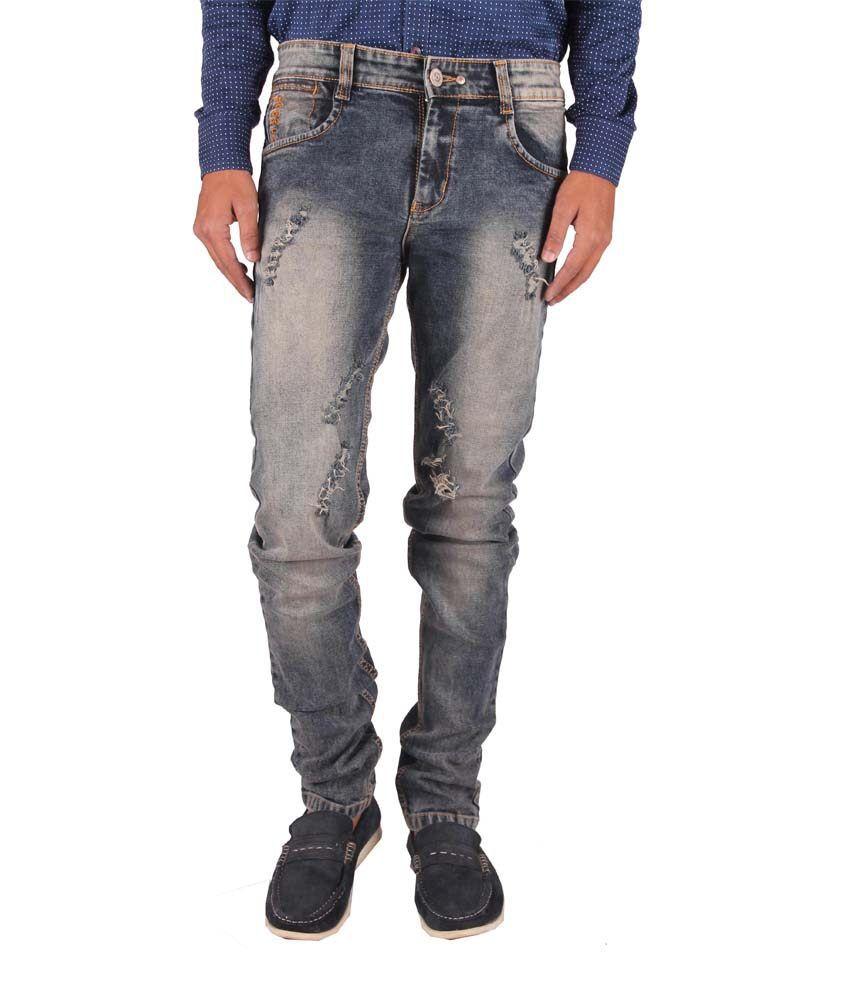 Gasconade Blue Slim Fit Jeans