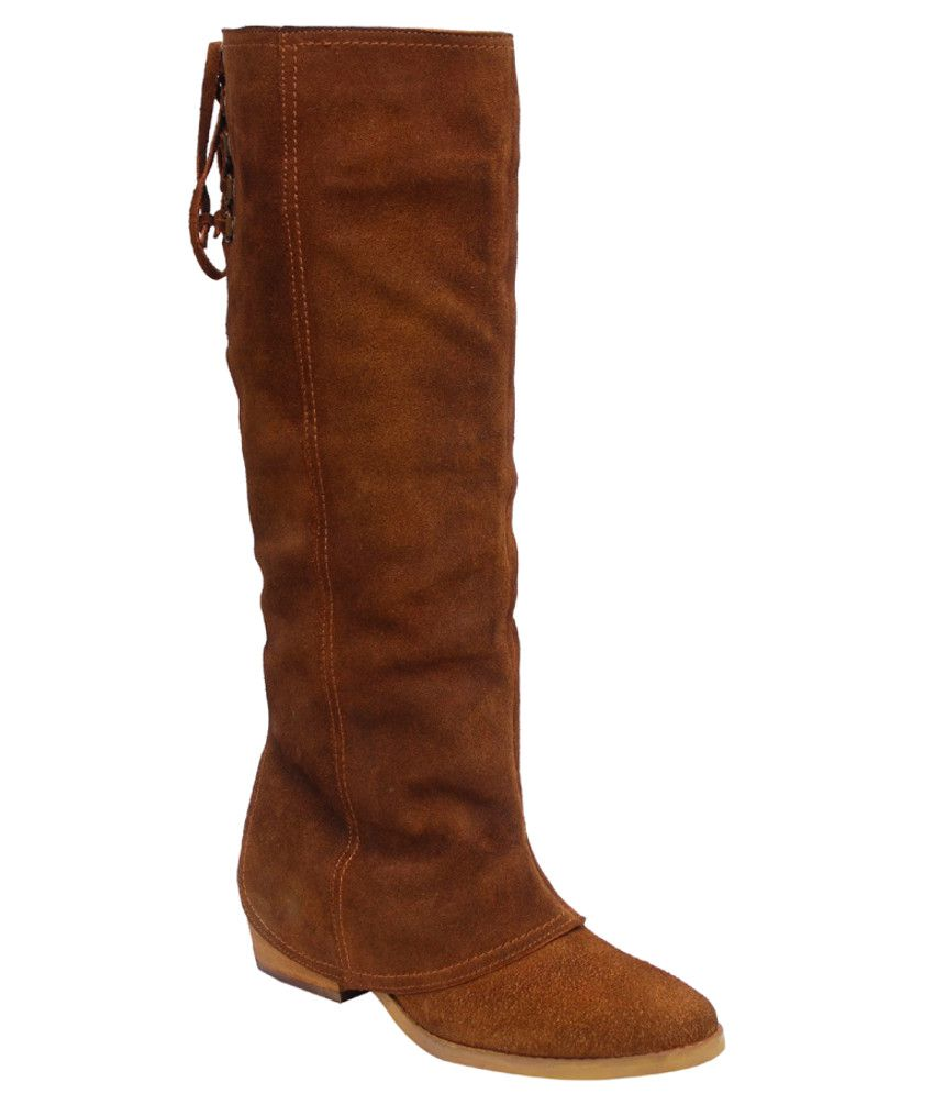 Ilo Stunning Brown Leather Boots