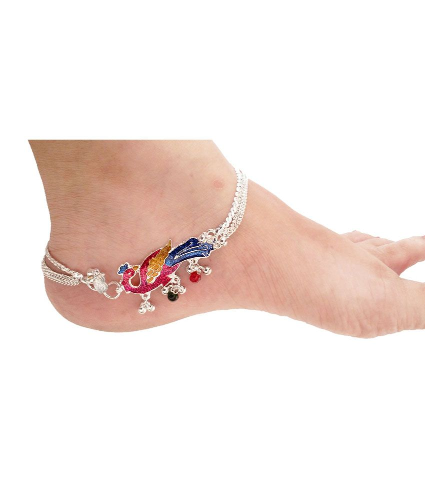 sexy ywguohe new dhgate retro ankle foot tibetan product beach silver by cheap beads anklet for jewelry online chain com anklets simple women unique